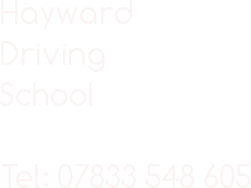 www.haywarddrivingschool.co.uk Logo